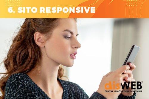 User experience: sito web che si adatta ai dispositivi mobile