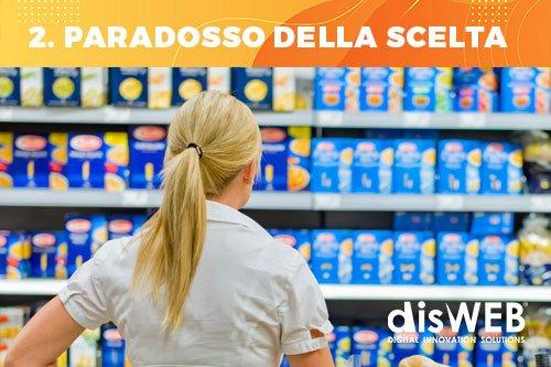 Neuromarketing- paradosso della scelta che rende indeciso il consumatore